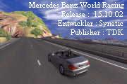 لعبة Mercedes Benz World Racing لسباق السيارات
